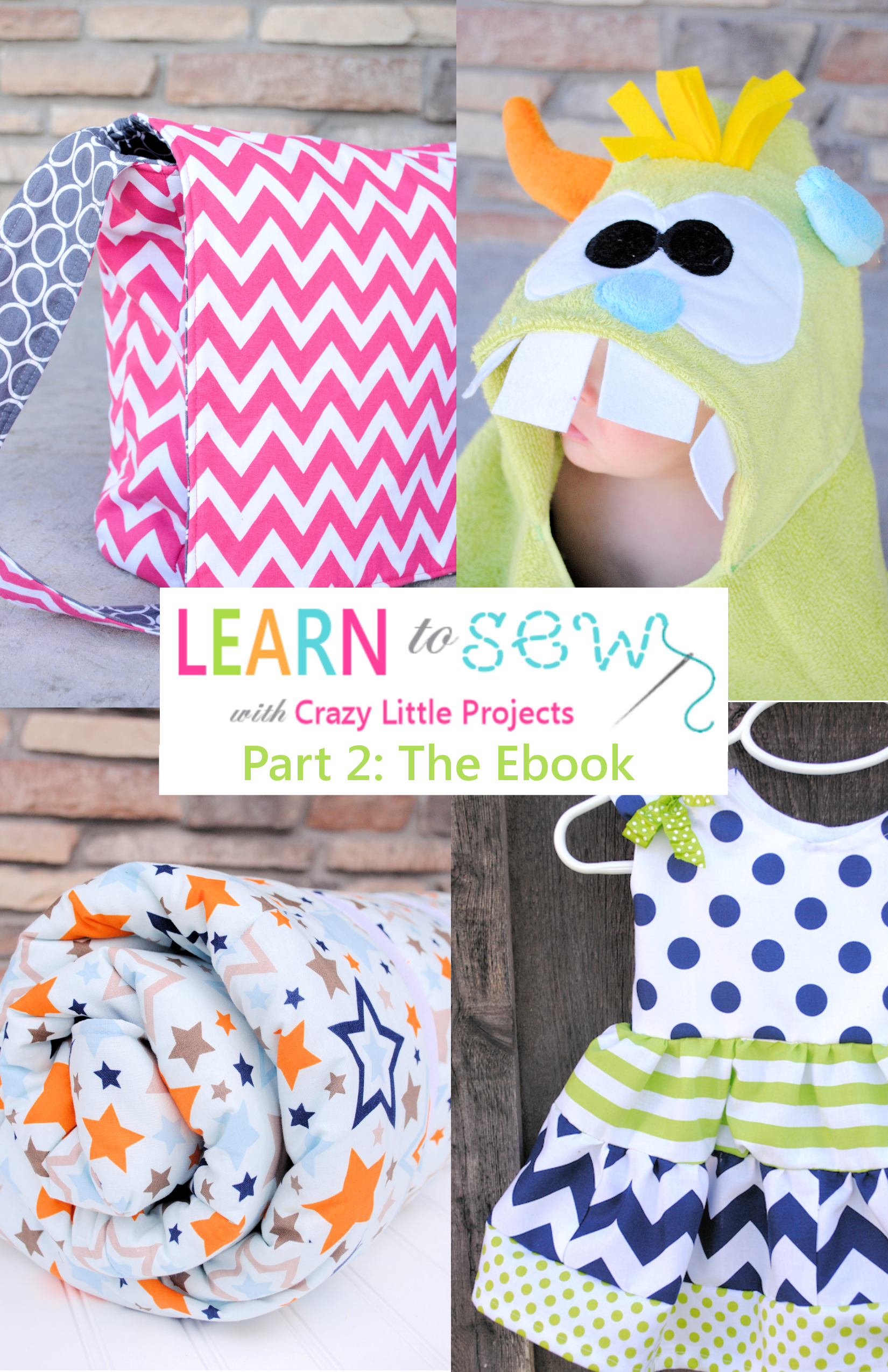 Learn To Sew Series Part 2: The EBook