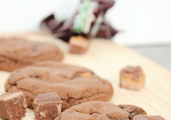 Soft and Chewy Milky Way Cookies by Crazy Little Projects