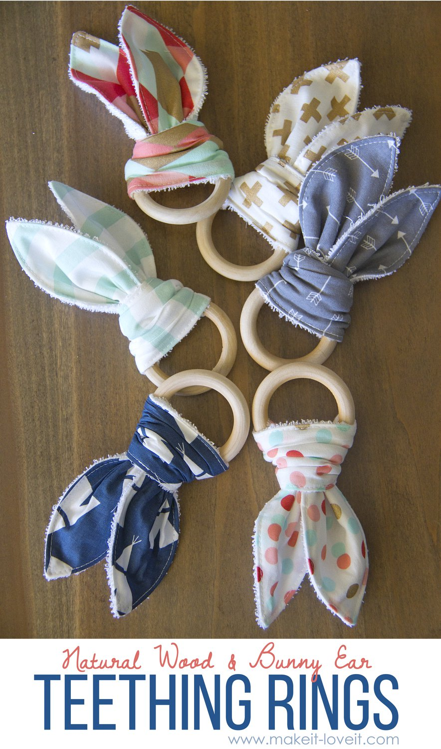 Teething Ring Free Baby Sewing Patterns