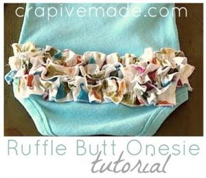 Ruffle Butt Onesie