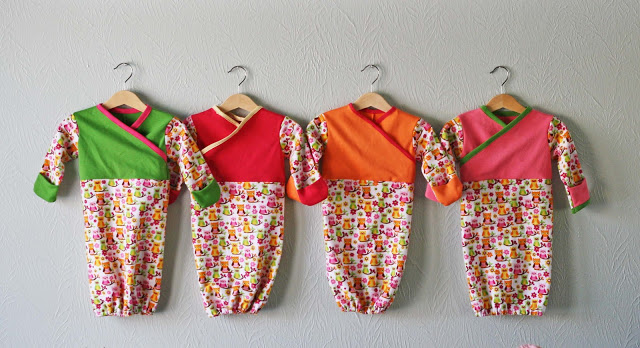 Sleep Sacks Baby Pattern