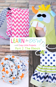 Learn to Sew Series Part 2