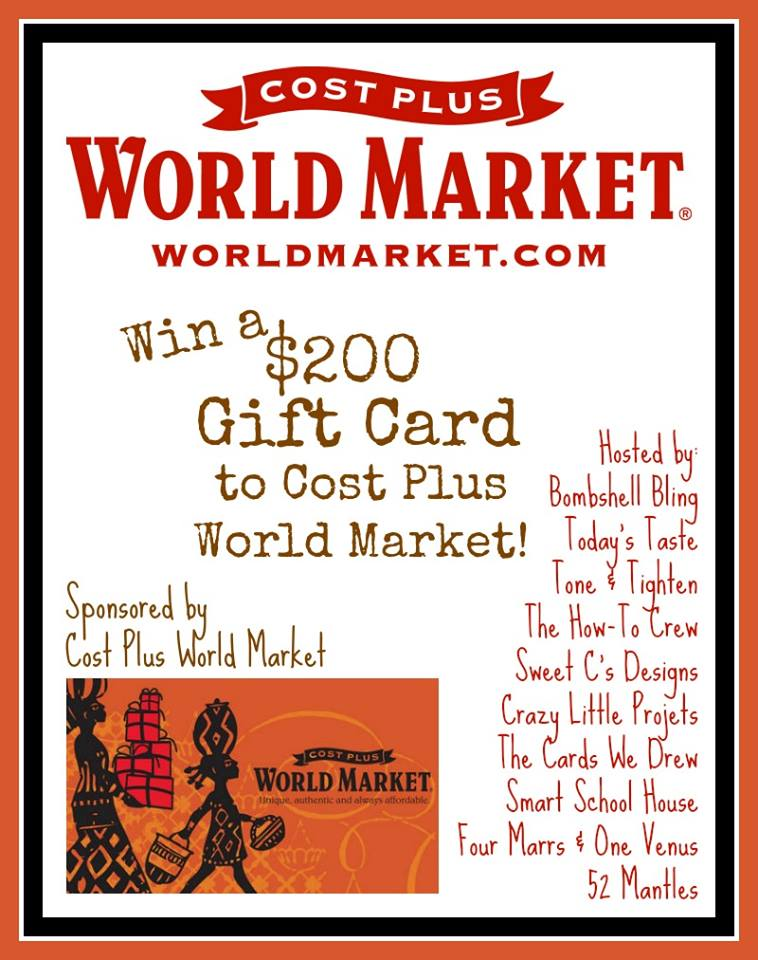 Enter to Win $200 to World Market