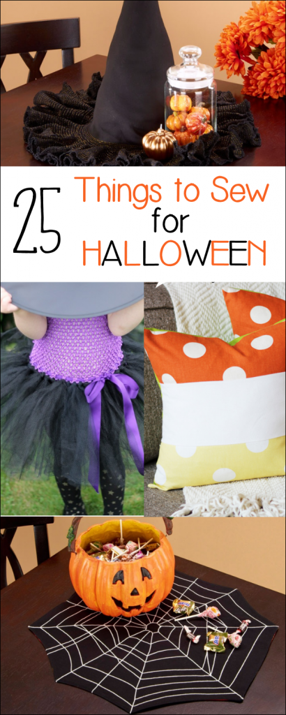 25 Things To Sew For Halloween Crazy Little Projects