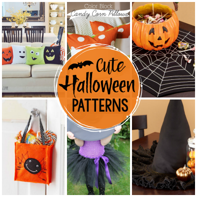 Cute Halloween Patterns to Sew