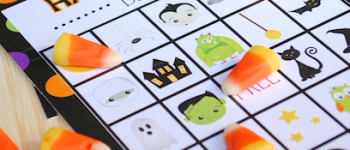 Free Printable Halloween Bingo Games for Kids Parties