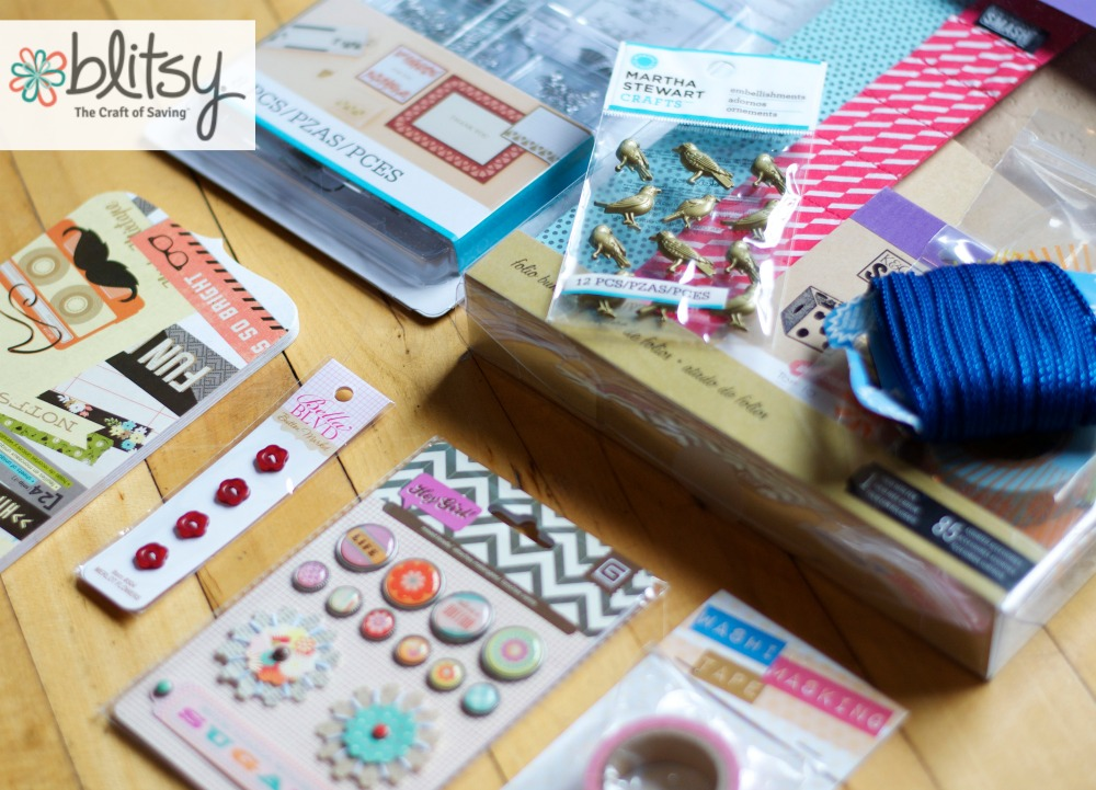 Win a $50 Grab Bag of Craft Supplies from Blitsy