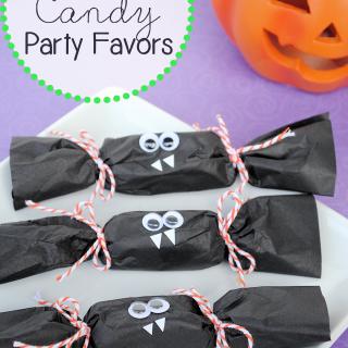 Batty Halloween Party Favors