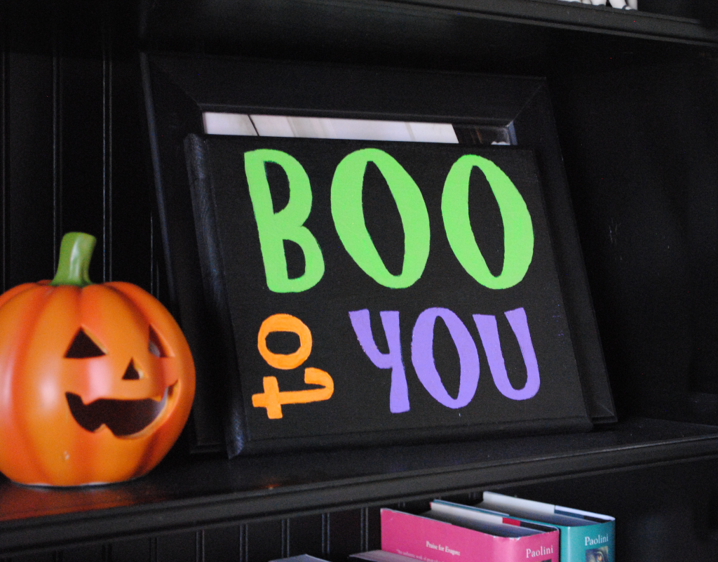 Hand Painted Halloween Signs