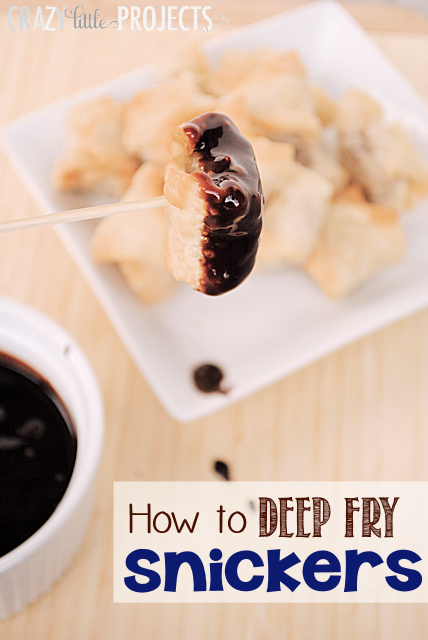 How to Deep Fry Snickers (tastes AMAZING!) #chocolate #shop