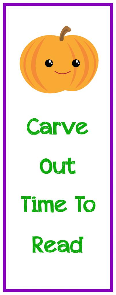 Kids Halloween Bookmarks-Free to Print!