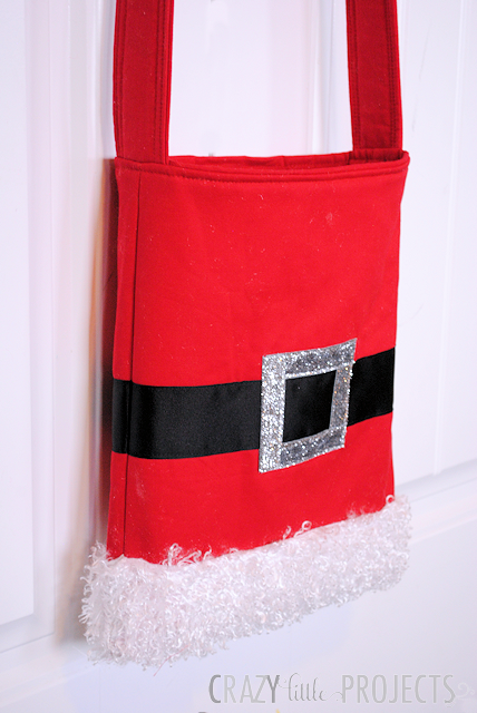 Santa Tote Bag pattern - So Sew Easy