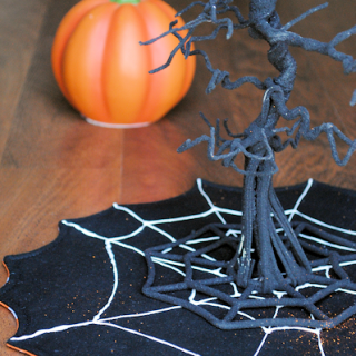 Spiderweb Halloween Centerpieces