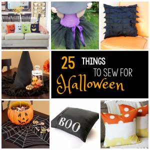 25 Things to Sew for Halloween
