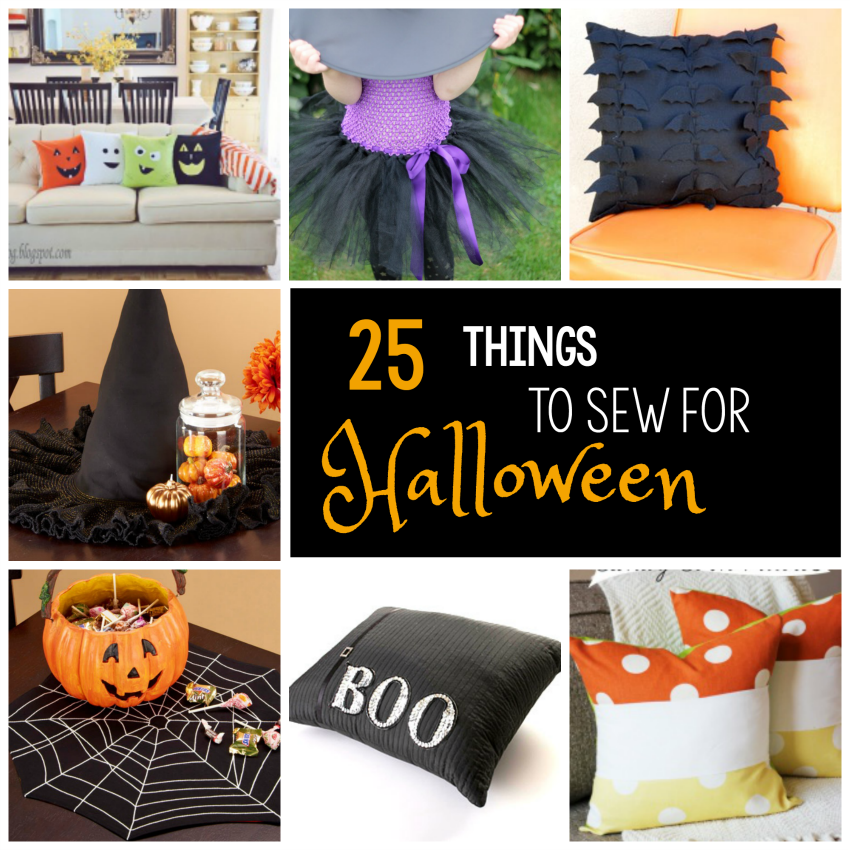 Things to Sew for Halloween