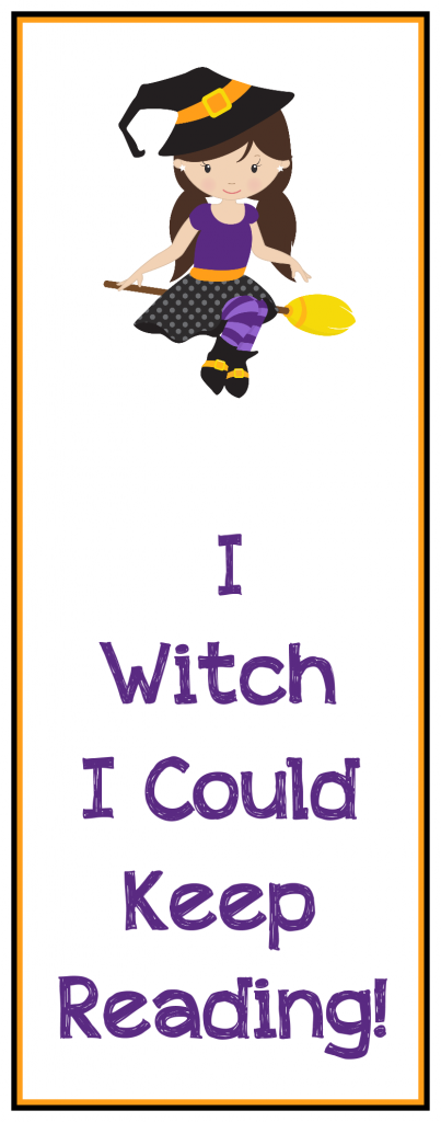 4 Free Halloween Bookmarks