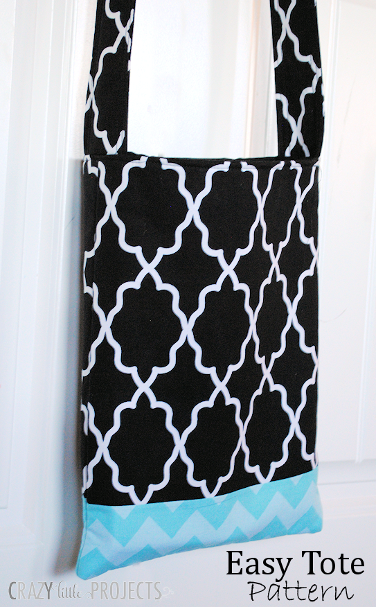 Easy Tote Bag Pattern-Great Beginner's Sewing Project