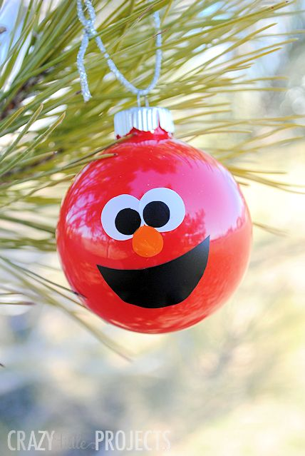make your own elmo ornaments - How To Make Your Own Christmas Decorations