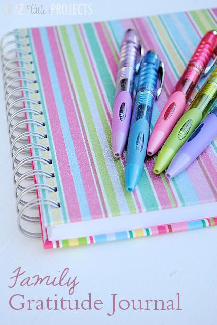Start a Family Gratitude Journal