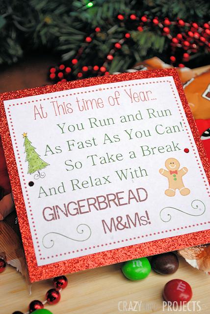 Free Printable Neighbor Gifts Tag #shop