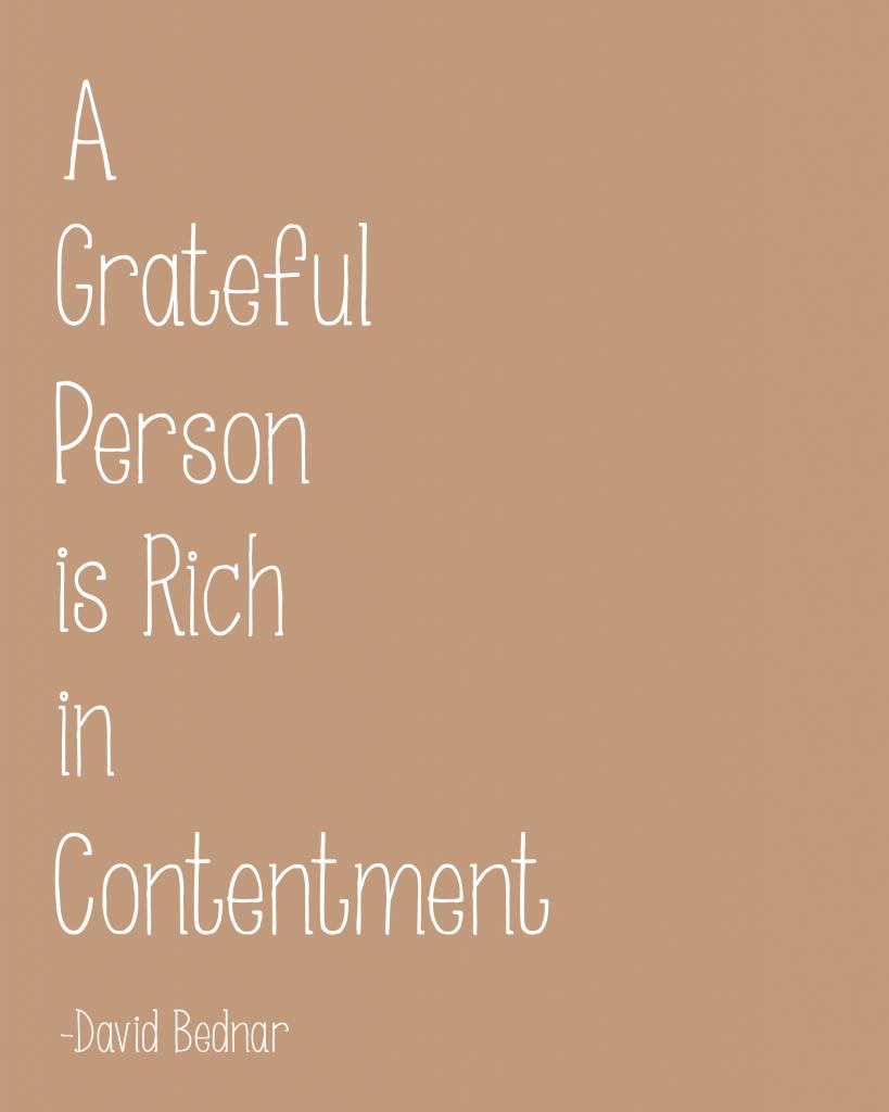 Free Printable Gratitude Quote