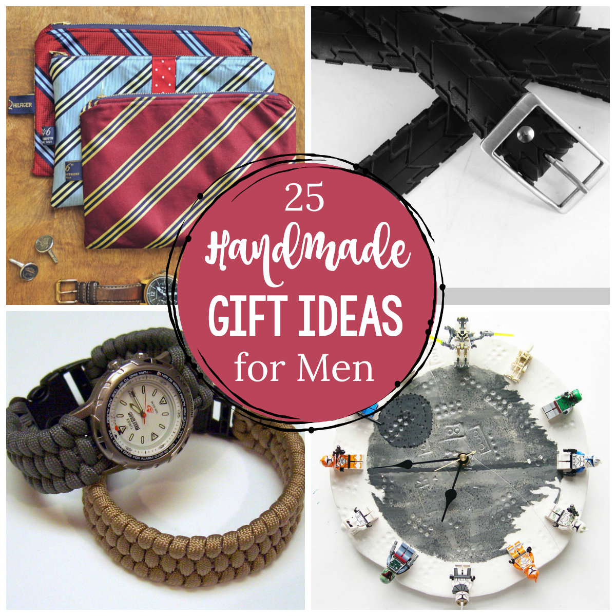 25 Great Handmade Gifts for Men - Crazy Little Projects