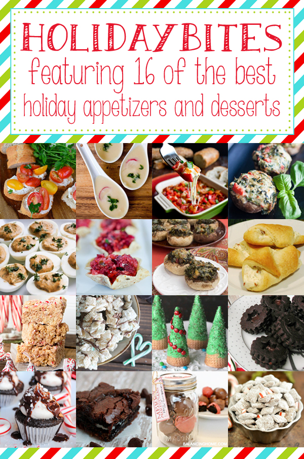 16 Amazing Holiday Appetizer and Dessert Recipes
