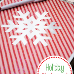 Make a festive holiday clipboard to keep all your lists in one place