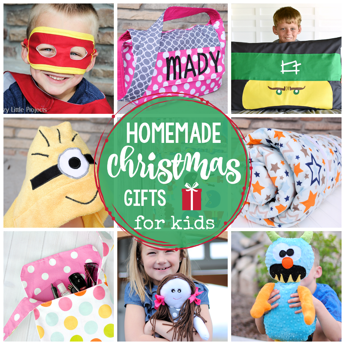 25 Homemade Christmas Gifts for Kids - Crazy Little Projects
