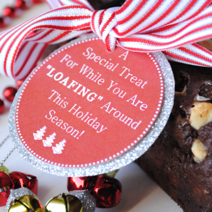 Chocolate Bread Recipe & Neighbor Gift Idea