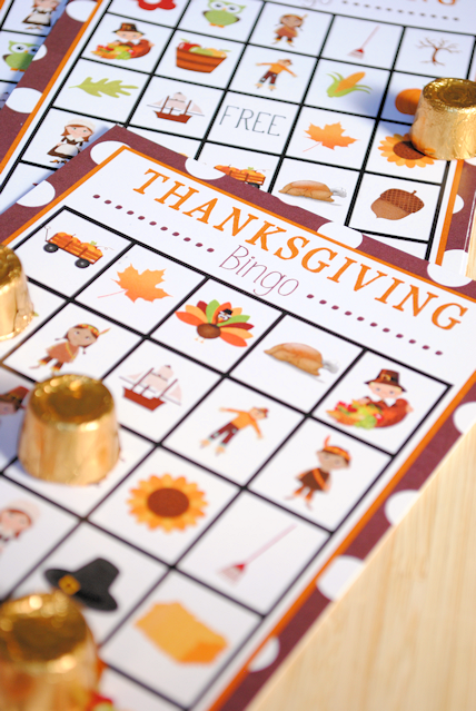 Free Printable Thanksgiving Bingo Game Crazy Little Projects