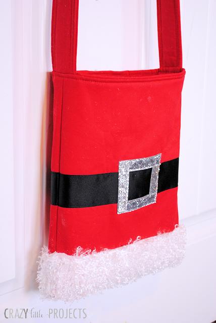 Santa Tote Bag Tutorial