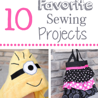 10 Favorite Sewing Projects of 2013