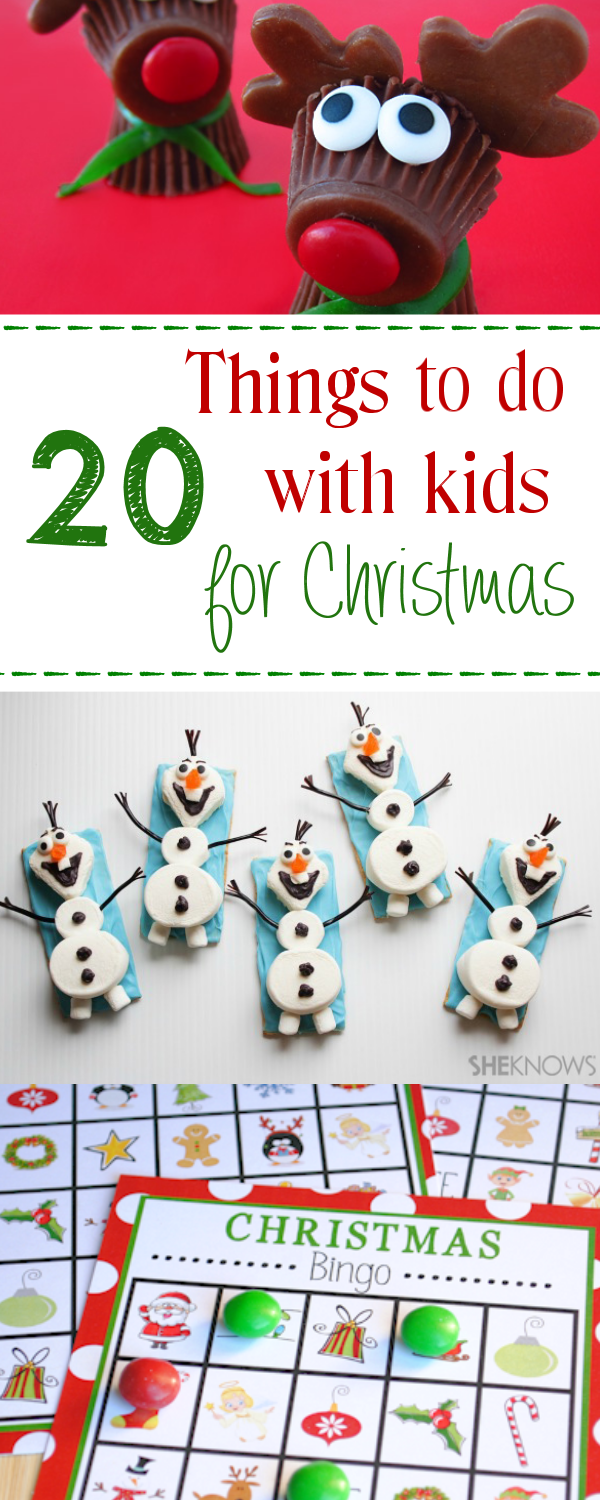 20 Fun Things to do with Kids for Christmas - Crazy Little Projects