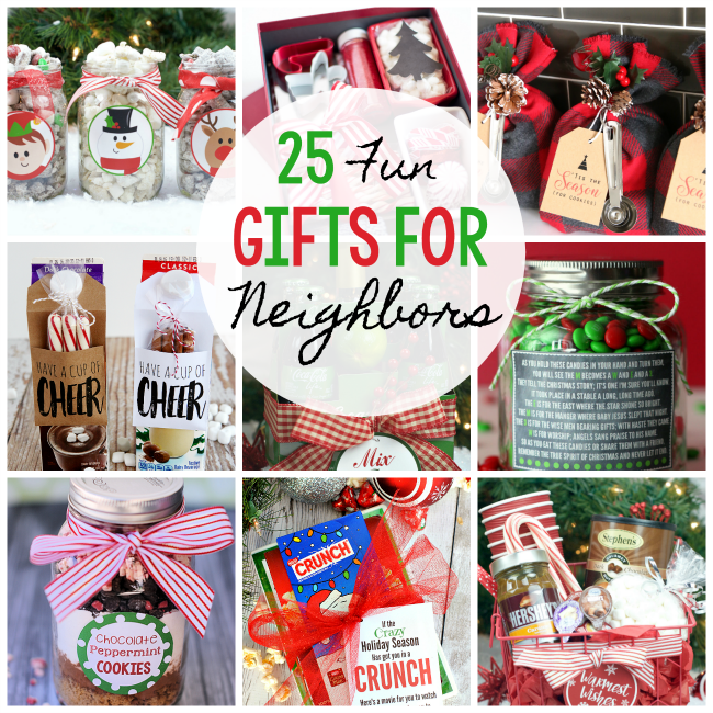 25 Gifts for Neighbors this Christmas