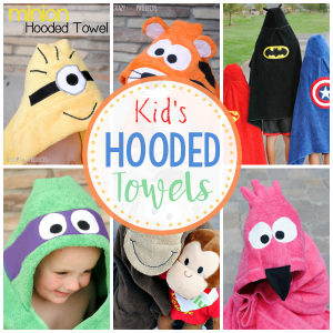 Children's Hooded Towels: How to Make a Hooded Towel for Kids