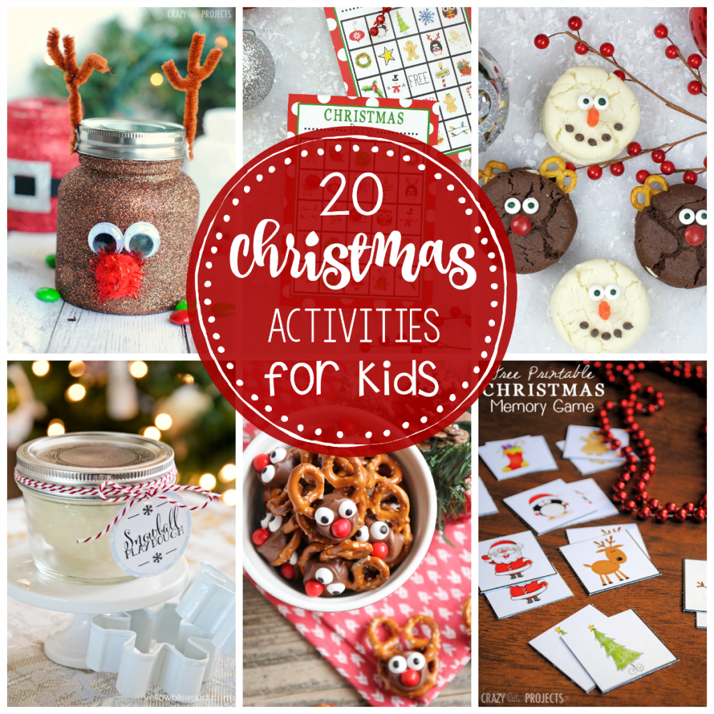 25 Fun Christmas Activities For Kids-Crazy Little Projects