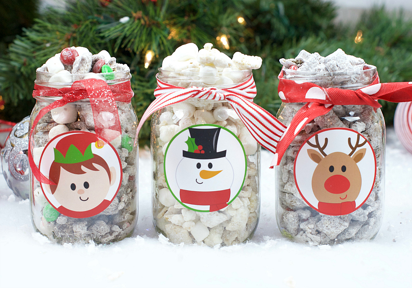 Christmas Muddy Buddies