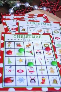 Free Printable Christmas Bingo Game