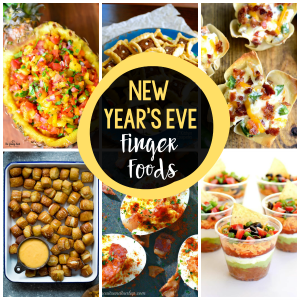 25 New Year's Eve Finger Foods