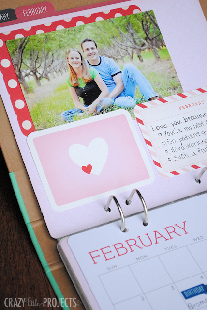 Michael's Recollections Calendar Kit - Crazy Little Projects