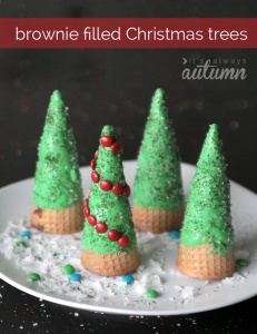 brownie-christmas-trees