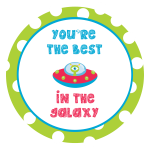 You're the Best in the Galaxy Valentine