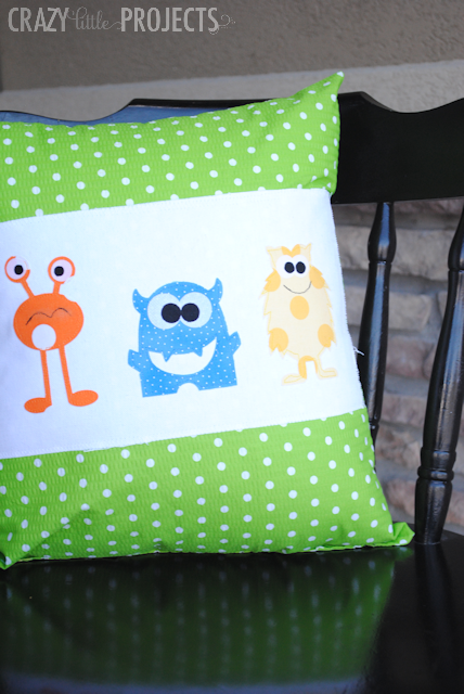 How to Applique a Throw Pillow