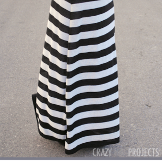 Sew Your Own Maxi Skirt {it's easy!}