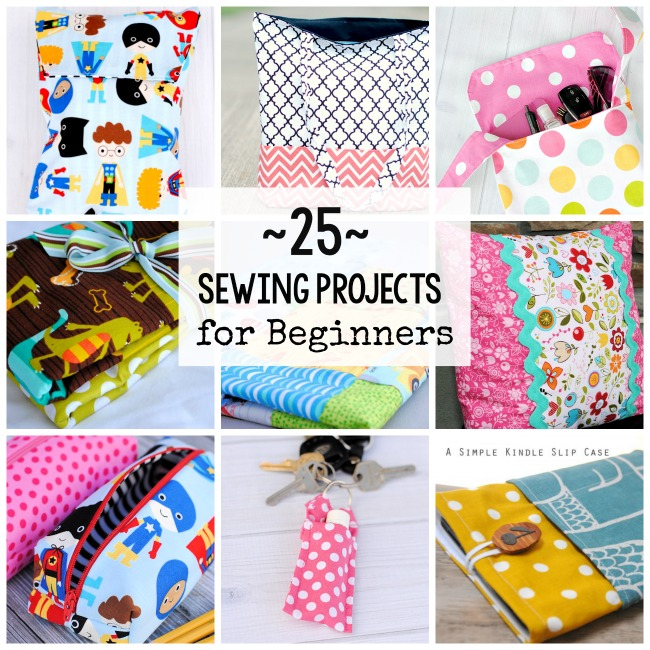 Easy Sewing Projects40 Things To Sew In Under 40 Minutes Gorgeous Craft Sewing Patterns
