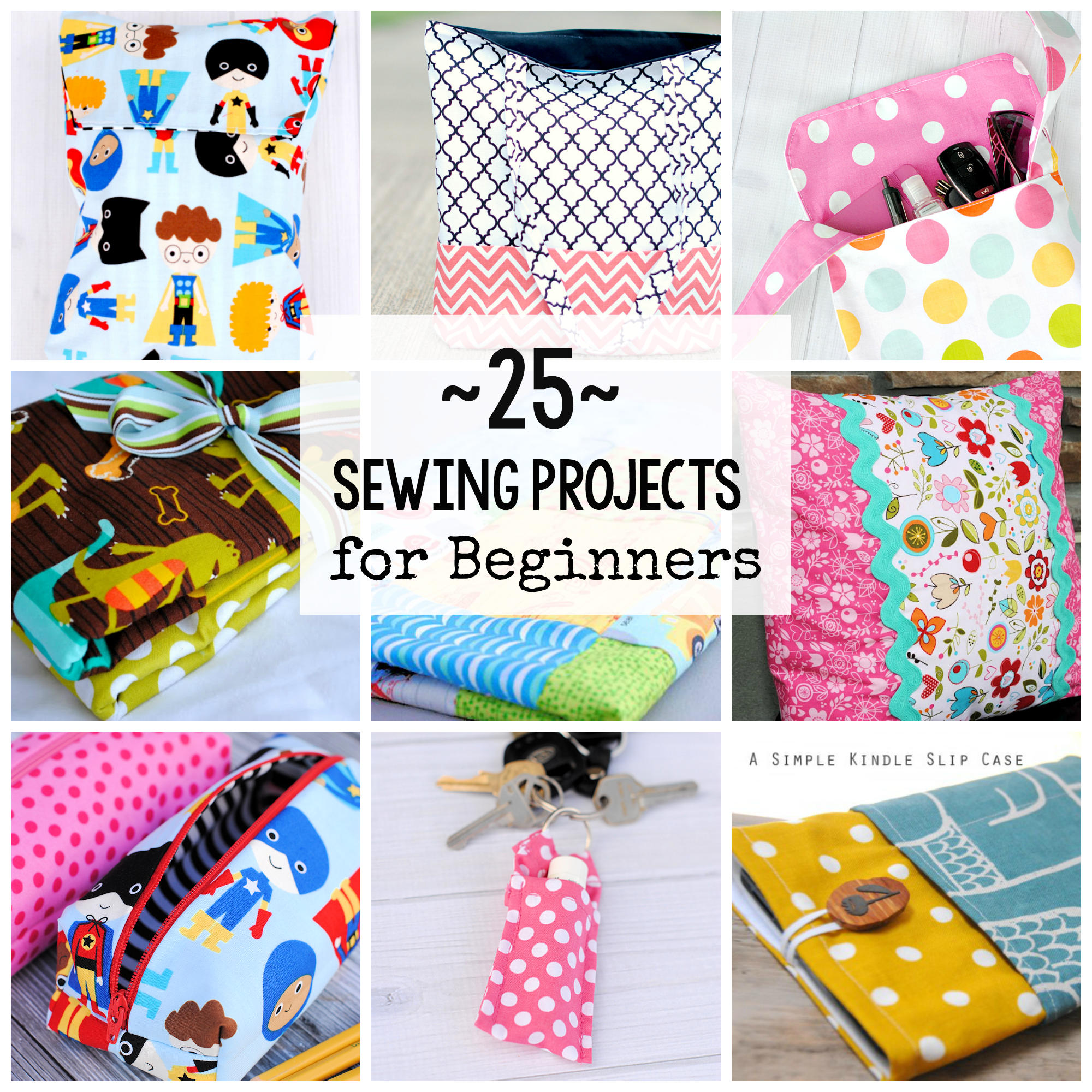 Sewing starter kit gift basket crazy little projects