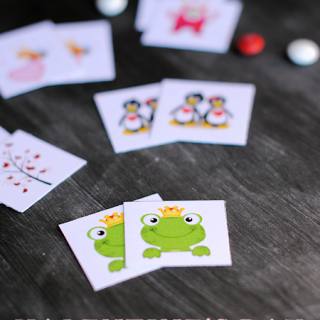 Free Printable Valentine Memory Game
