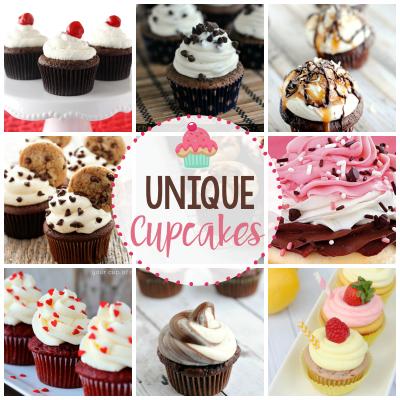 25 Unique Cupcake Recipes