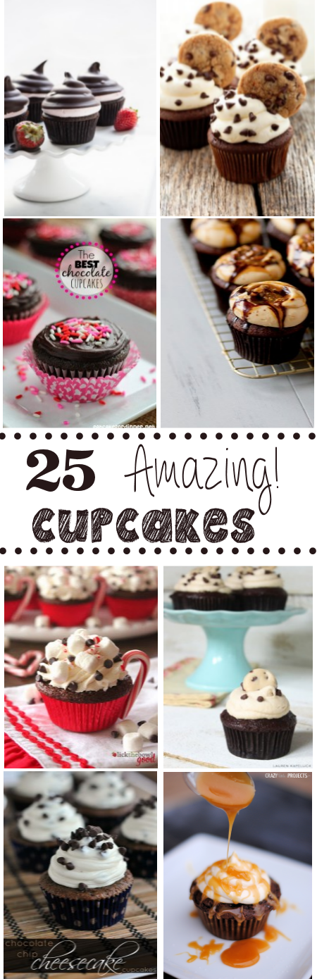 25 Amazing Cupcake Recipes to try